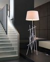 Delta Floor Lamp White