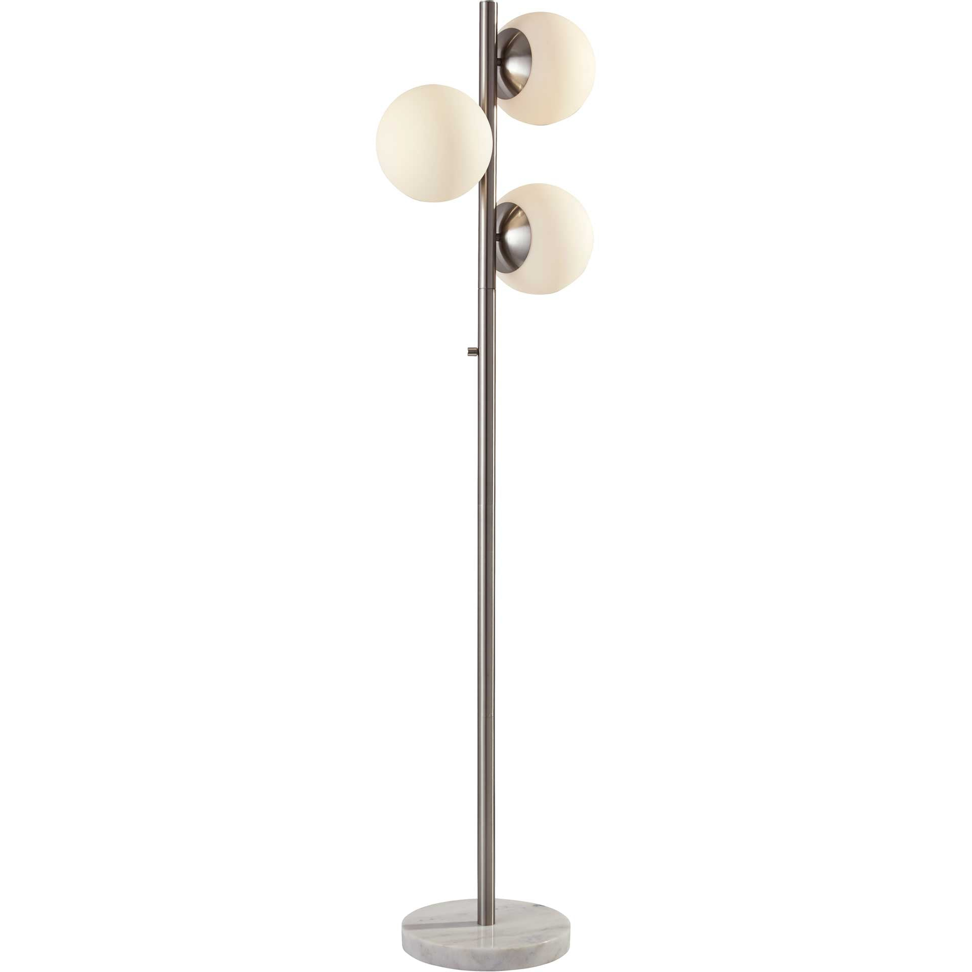 Cannes Floor Lamp Chrome