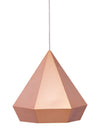 Prism Ceiling Lamp Rose Gold