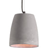 Fathom Ceiling Lamp Concrete Gray