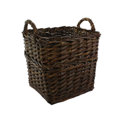 Orchard Willow Square Basket (Set of 2)