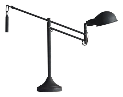 Sarafina Table Lamp Black Sand Granite