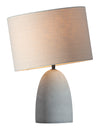 Viktor Table Lamp Beige/Concrete Gray
