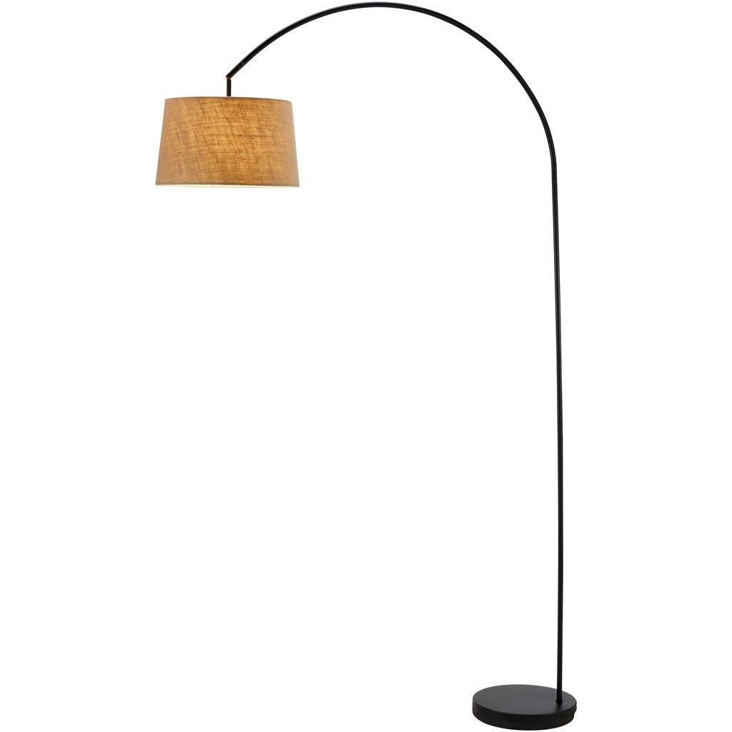 Glasgow Arc Lamp Matte Black