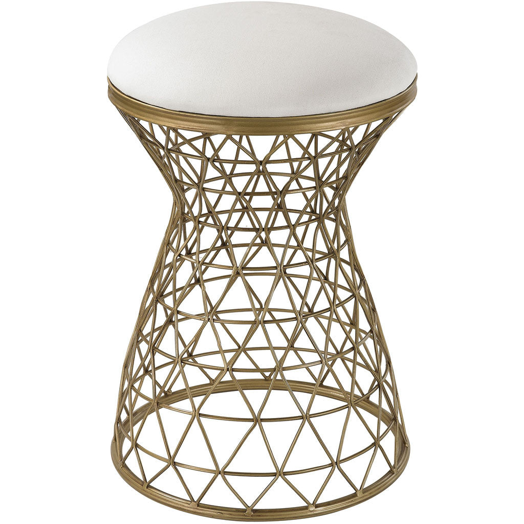 Klein Wire Mesh Form Stool