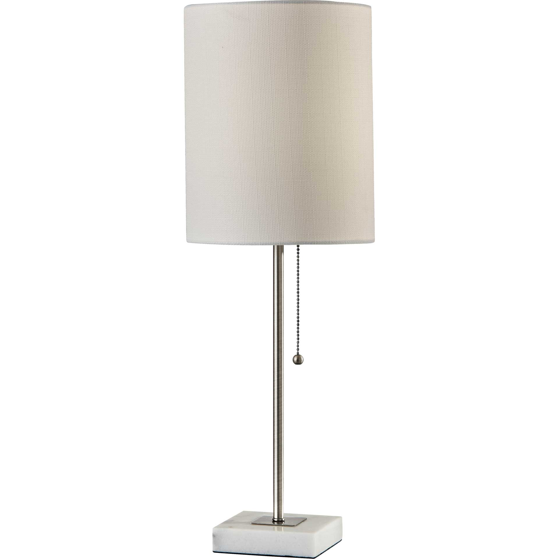 Fife Table Lamp Brushed Steel
