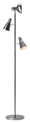 Shutter Floor Lamp Chrome
