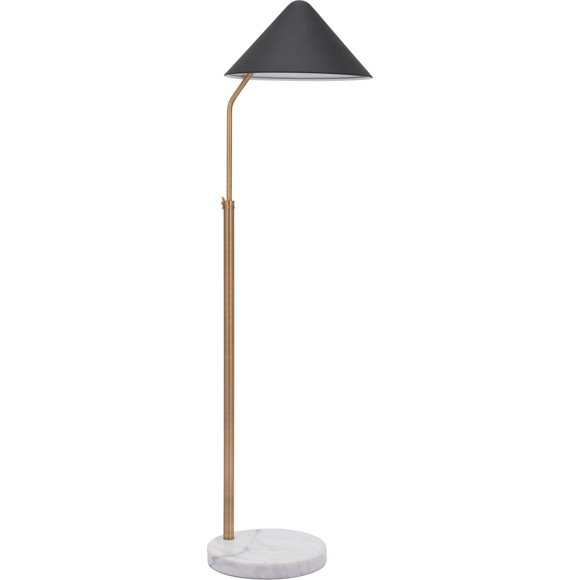 Pyke Floor Lamp Black
