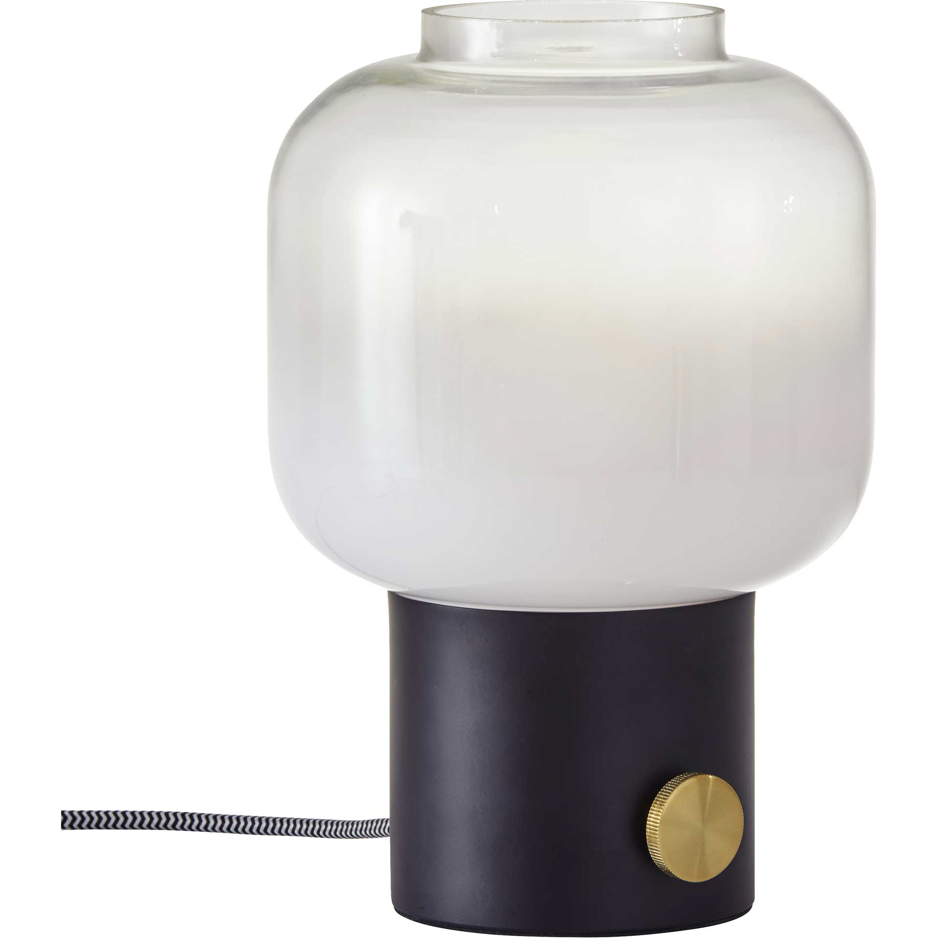 Lens Table Lamp Black