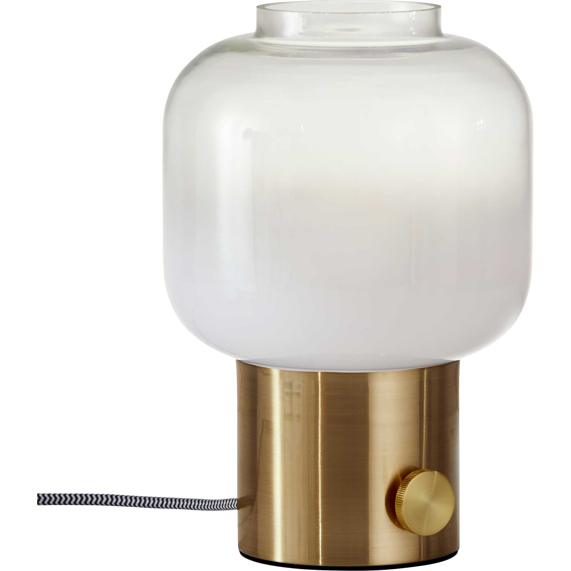 Lens Table Lamp Brass