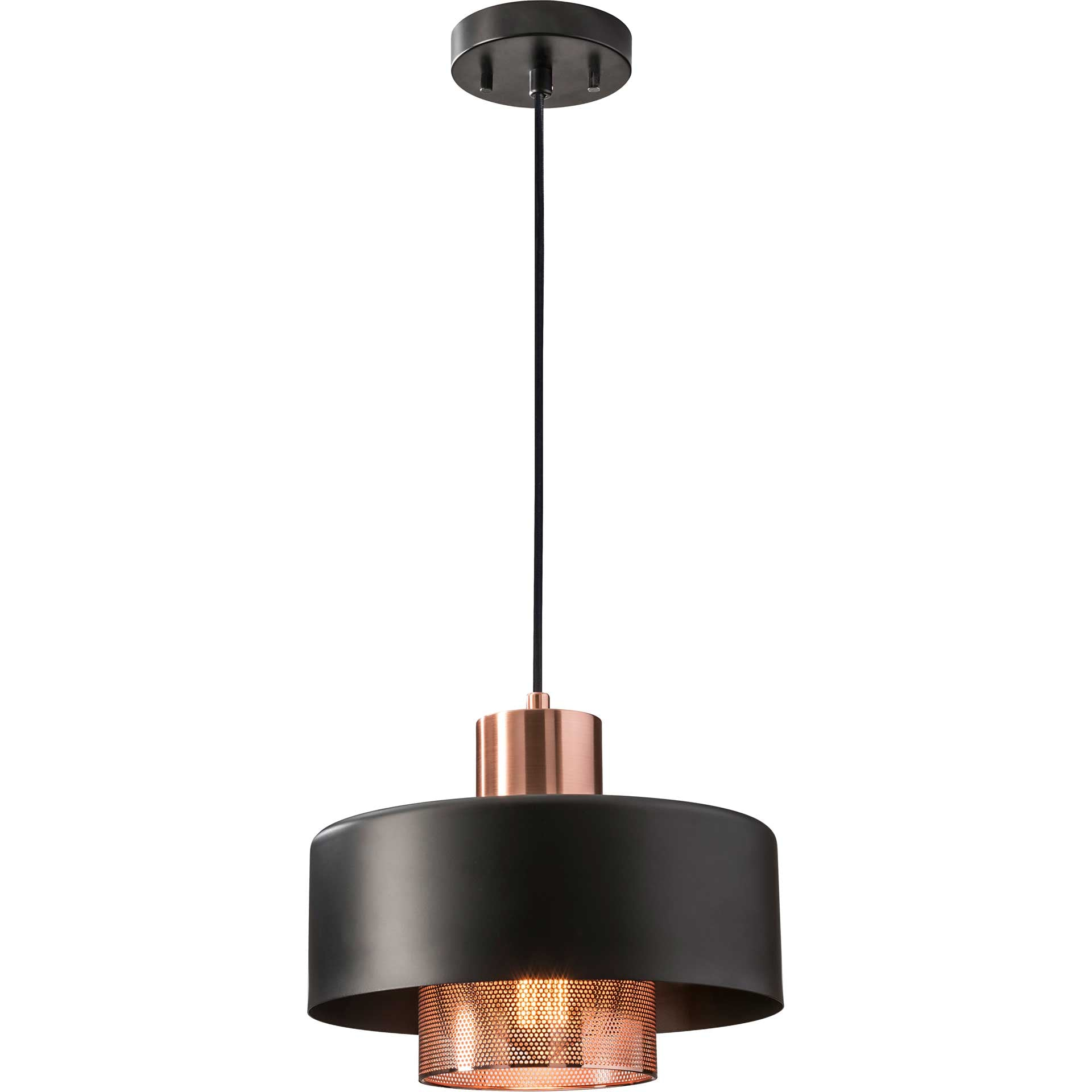 Brondby Pendant Copper/Black