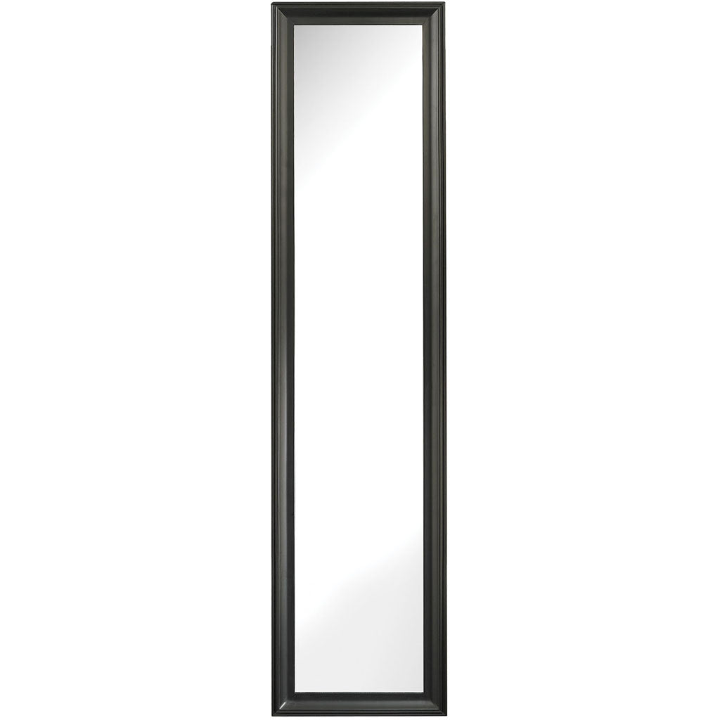 Wynne Mirror Aged Black