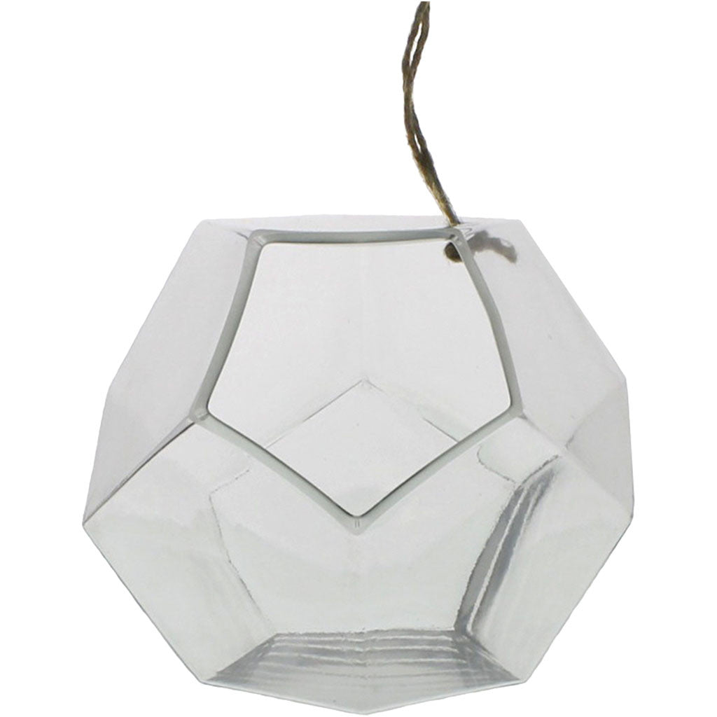 Hanging Dodecahedron Vase