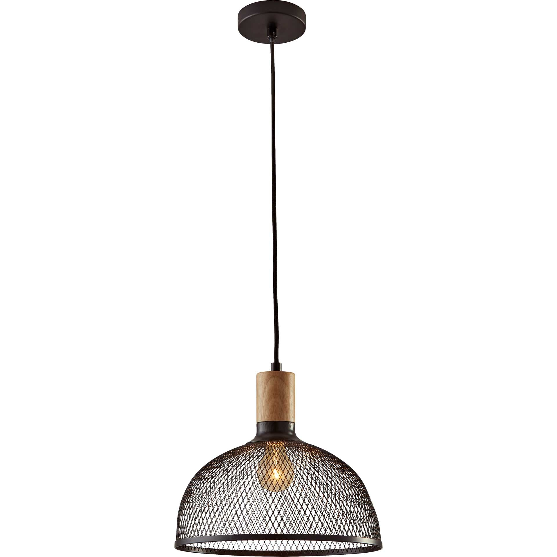 Dammarie Pendant Black/Natural