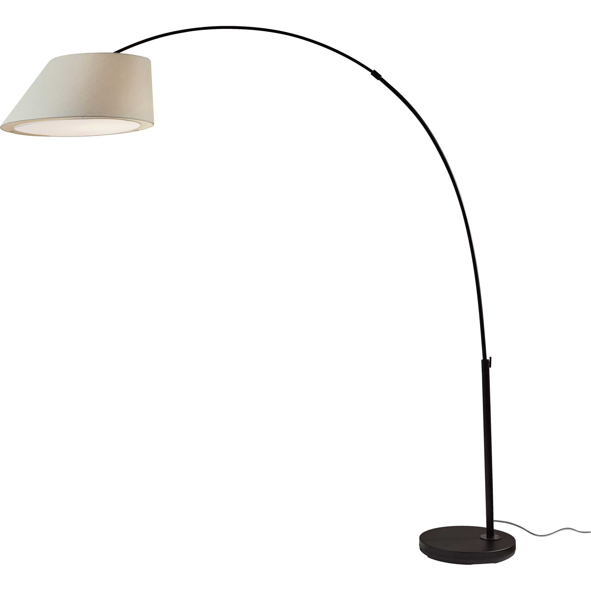 Mulhouse Arc Lamp Black