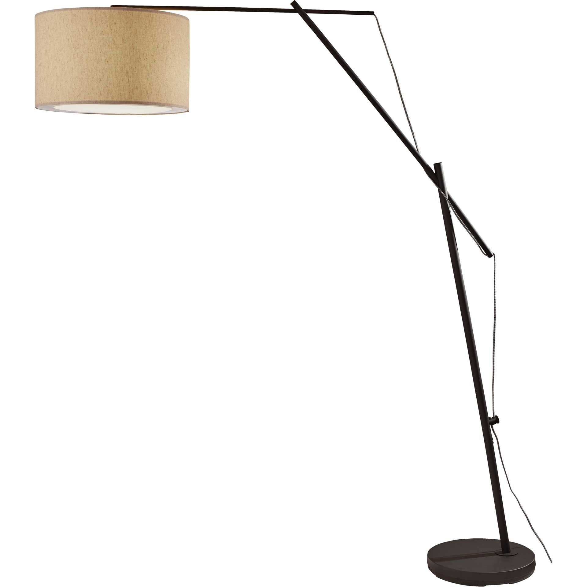 Bron Arc Lamp Black