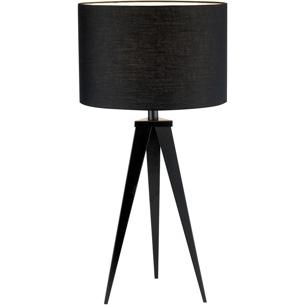 Dictation Table Lamp Black