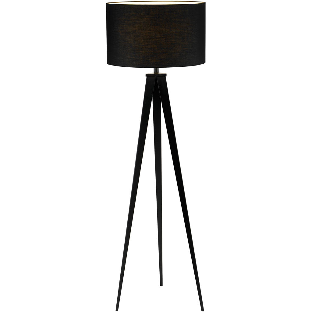 Dictation Floor Lamp Black