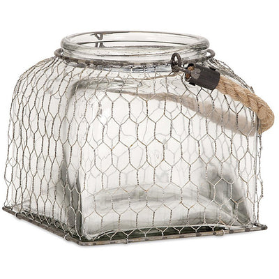 Forsyth Wire Cage Jar Small