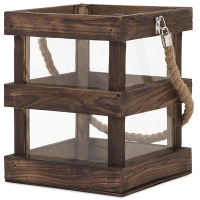 Newaygo Wood Lantern Short