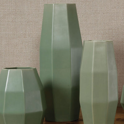 Modern Medium Ceramic Vase Celadon