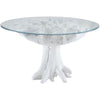 Song Root Dining Table White