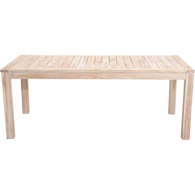 West Bay Dining Table White Wash