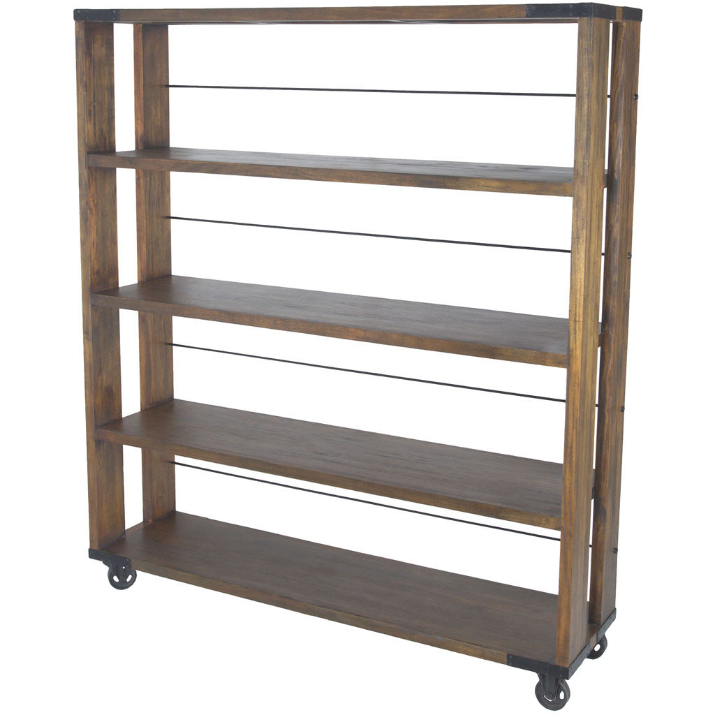 Parth Farmhouse Shelving Unit Large