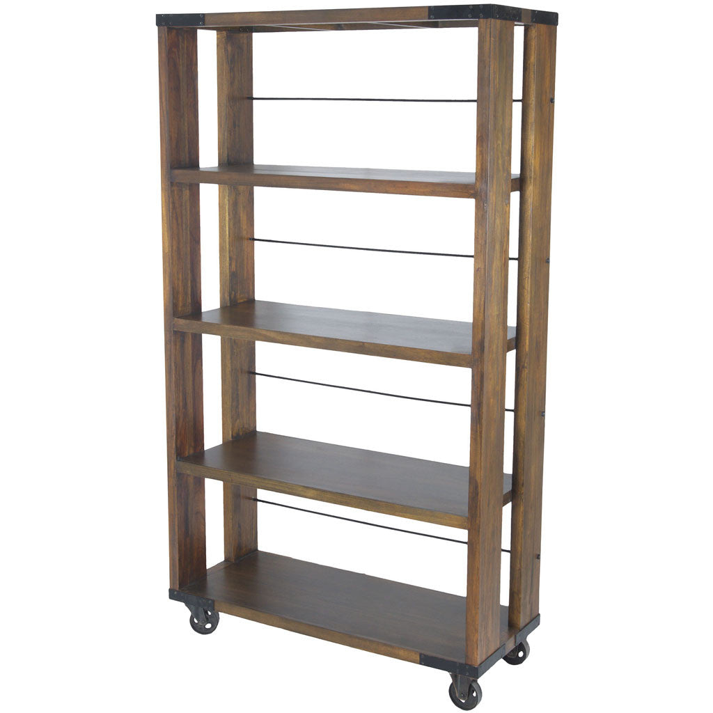 Parth Farmhouse Shelving Unit Medium