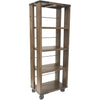 Parth Farmhouse Shelving Unit Small