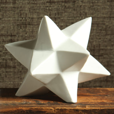 Ceramic Small Origami Star