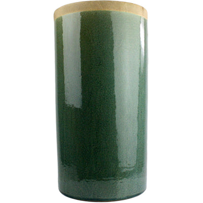 Merlin Large Cylinder Vase Teal