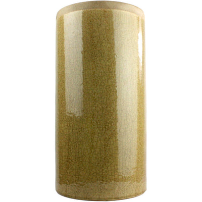 Merlin Large Cylinder Vase Yellow