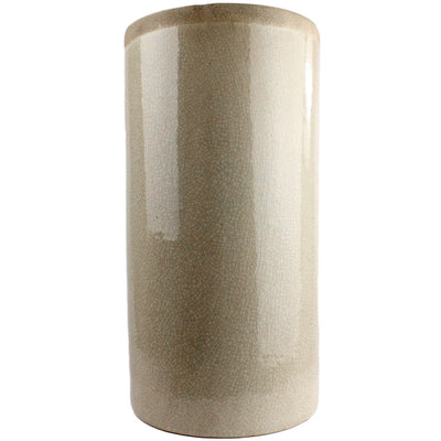 Merlin Large Cylinder Vase White