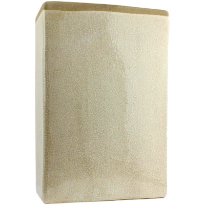 Merlin Large Rectangle Vase White