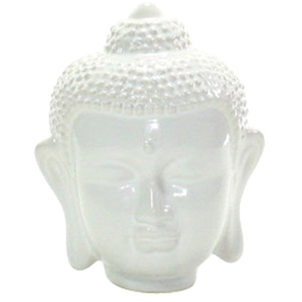 Ceramic Small Buddha Head