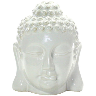 Ceramic Medium Buddha Head