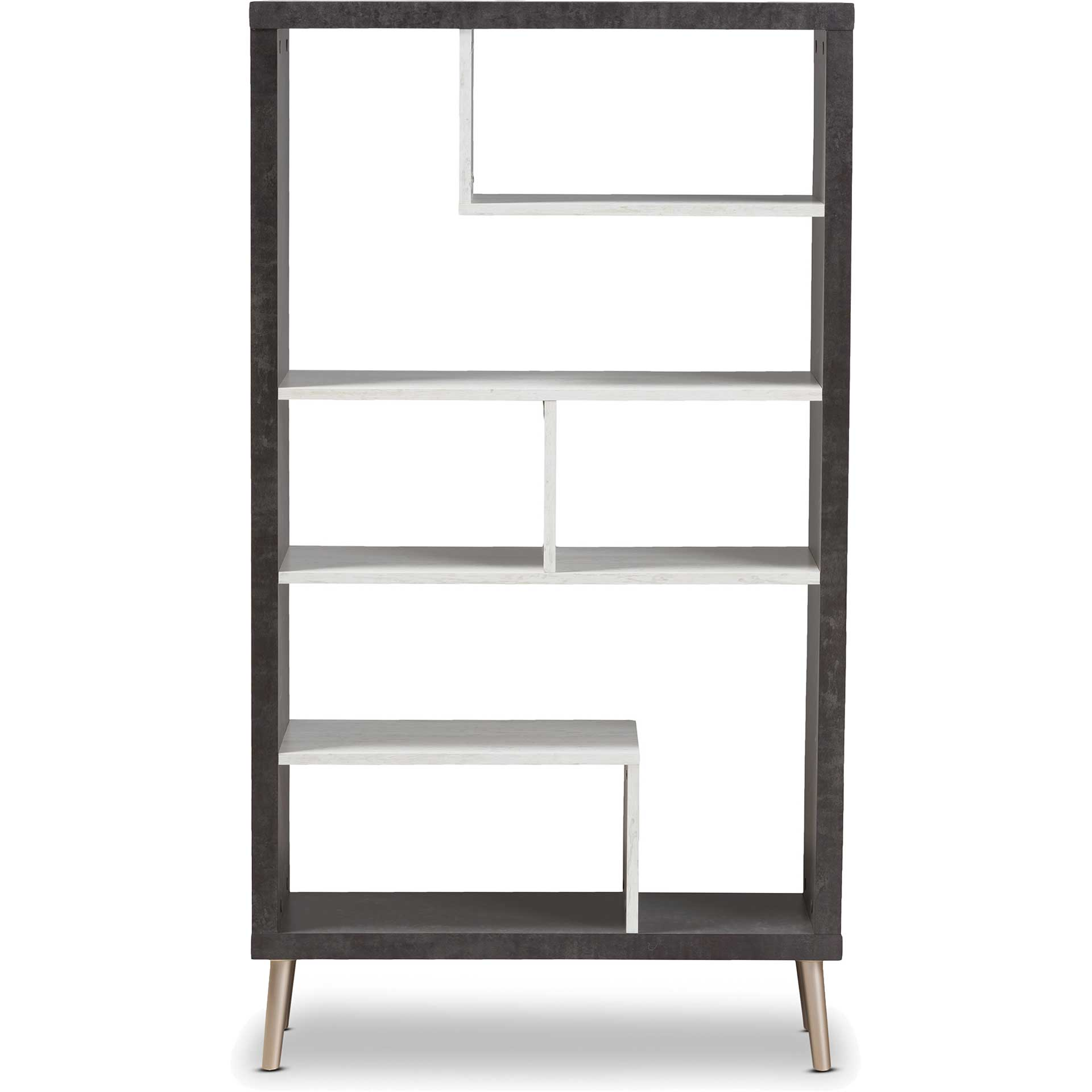 Athena Display Shelf Dark Brown/Light Gray