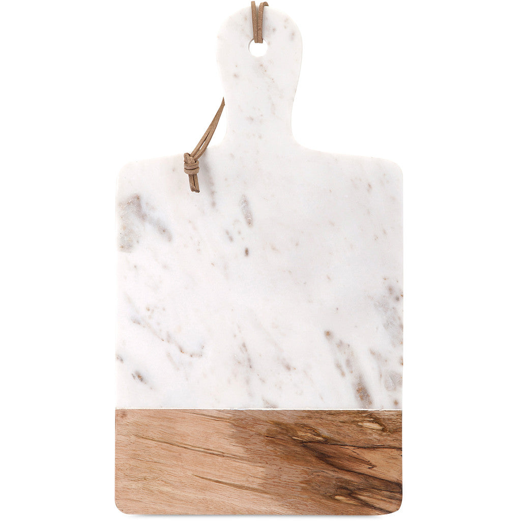 Ackroyd Marble and Wood Cheese Board