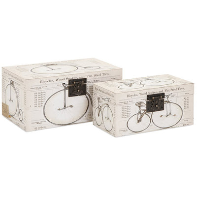 Banks Bicycle Boxes (Set of 2)