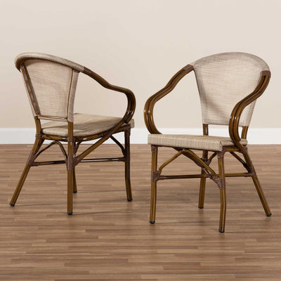 Arya Dining Chair Gray (Set of 2)