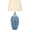 Marbleized Sea Terracotta Table Lamp