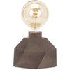 Velika Wood Table Lamp with Edison Bulb