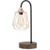 Tiana Copper and Wood Table Lamp