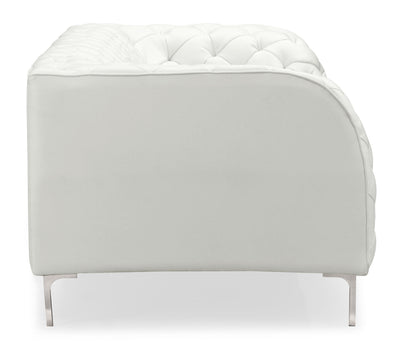 Plainville Sofa White