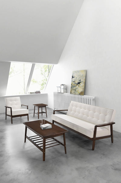 Avera Sofa White