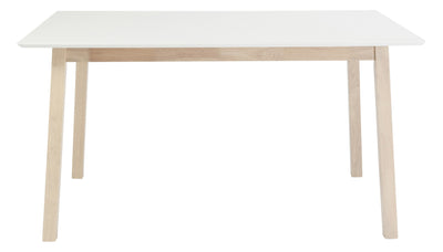Montague Dining Table White/Nat