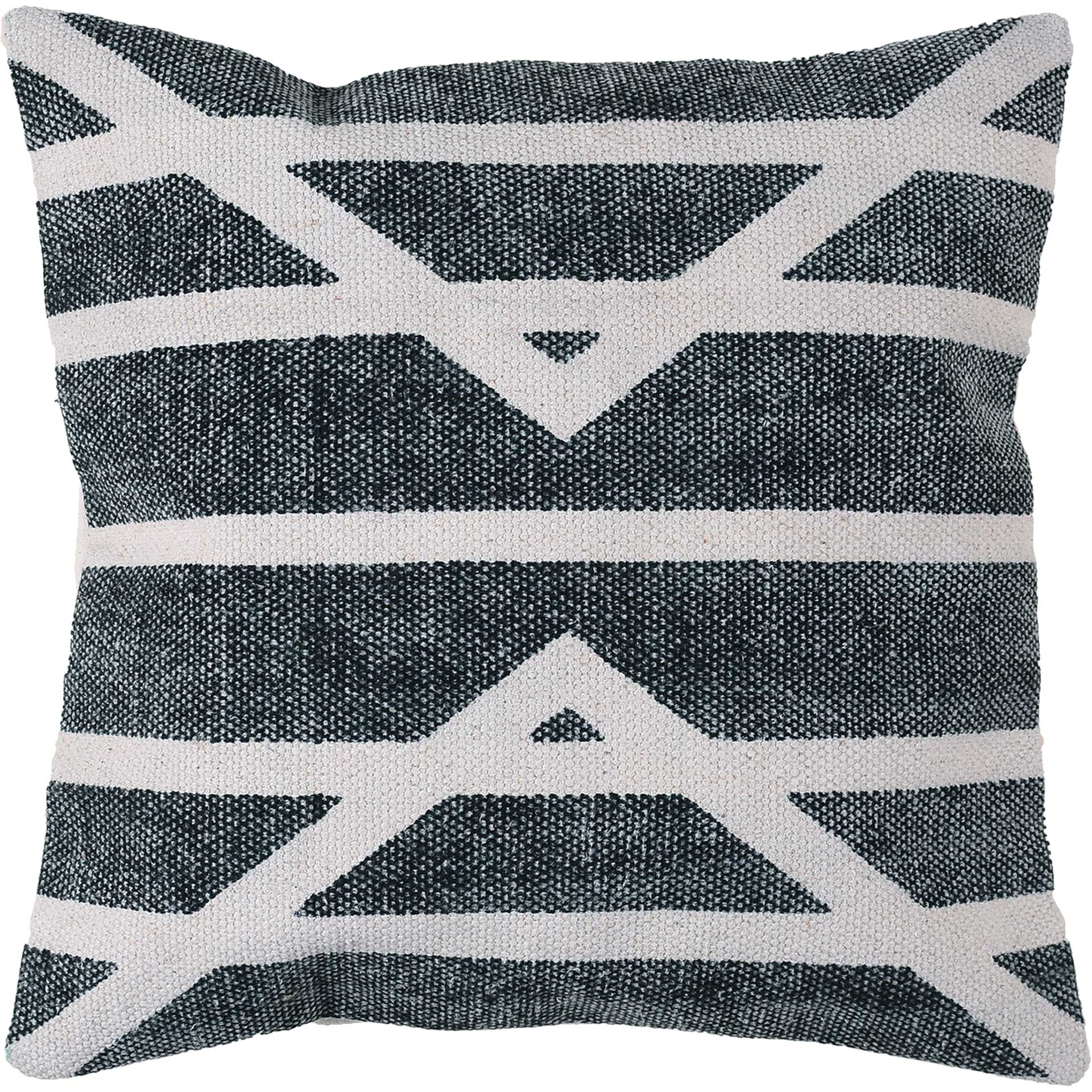 Centerpoint Stripe Block Print Pillow