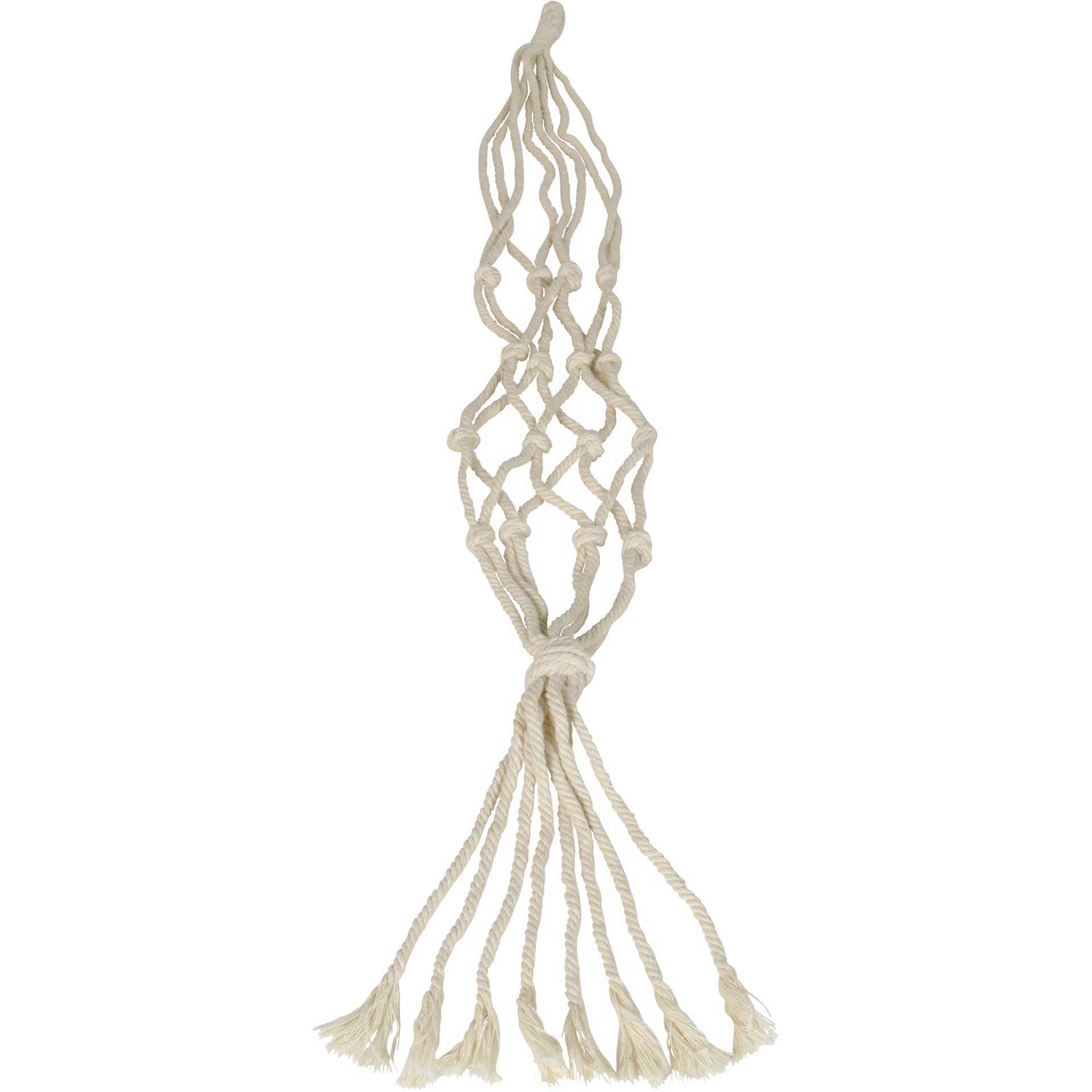 Macrame Hanger Cotton Natural