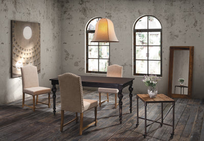 Sandisfield Dining Table Antique Black